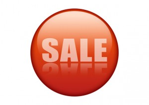 sale button